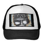 funky graffiti trucker hat