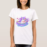 Funky Grafitti Girls Gymnastics T-Shirt