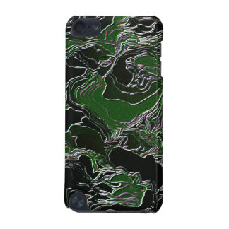 Funky Green  Army Camo iPod Touch (5th Generation) Case