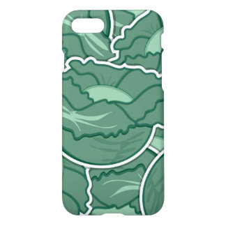 Funky green cabbage iPhone 8/7 case