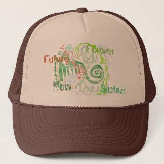 Funky Green Cap