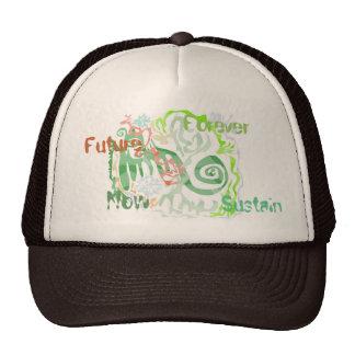 Funky Green Cap Trucker Hat