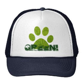 Funky Green Hat! Trucker Hat