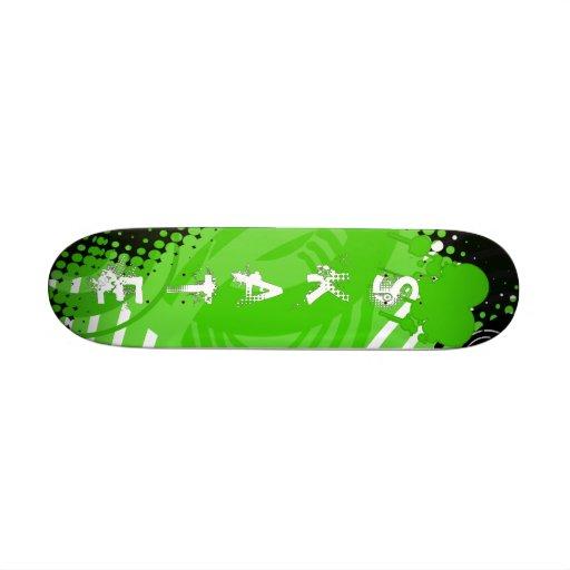 Funky green Skateboard