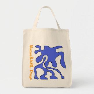 Funky Grocery Tote! Canvas Bags