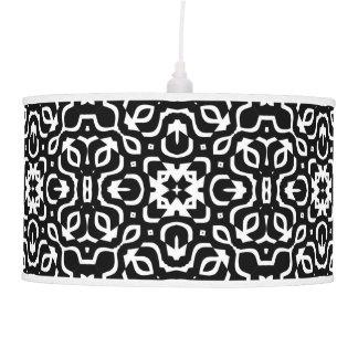 Funky Groove Black & White Pattern Lamp