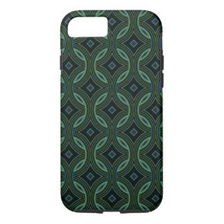 Funky Groovy Green Blue Black Celtic Tribal Art iPhone 8/7 Case