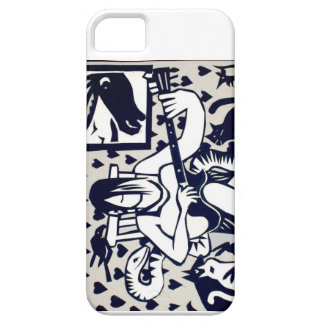 Funky Guitarist iPhone case