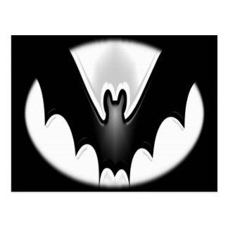 Funky Halloween Bat Postcard