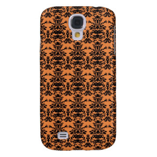 Funky Halloween Damask 2 Galaxy S4 Cases
