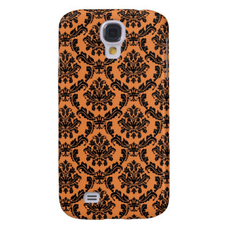 Funky Halloween Damask Galaxy S4 Case