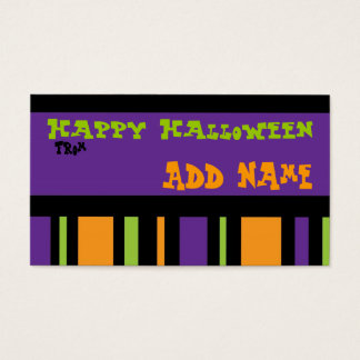 Funky Halloween Gift Tag
