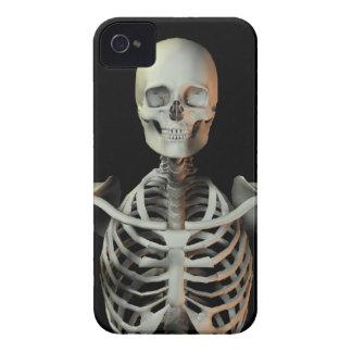 Funky happy skeleton iPhone 4 case