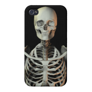 Funky happy skeleton cases for iPhone 4