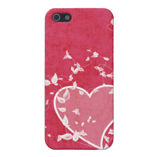 Funky Heart Pink iPhone 4 Case