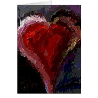 Funky Heart - Valentines Day card