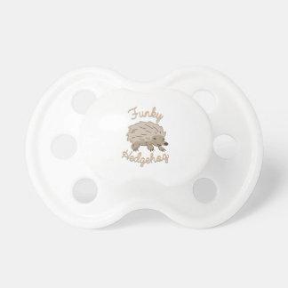 Funky Hedgehog Pacifier