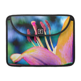 Funky Hibiscus Sleeve For MacBook Pro