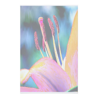Funky Hibiscus Stationery