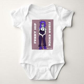 Funky Hip Fibro Chick.jpg T-shirt