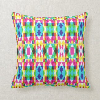 Funky Hipster Symmetry Pillow