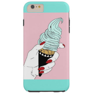 Funky IceCream Cone Tough iPhone 6 Plus Case