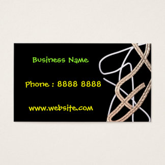 Funky Insignia Business Card