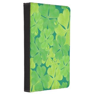 Funky Irish Shamrock Design Kindle 4 Cover