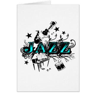 Funky Jazz Card