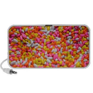 Funky Jellybean Portable Speaker for phone, tablet