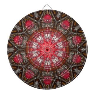 Funky Kaleidoscope Dart Board