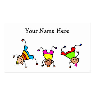 Funky Kids Double-Sided Standard Business Cards (Pack Of 100)