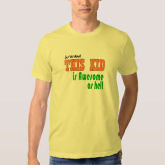 Funky kids clothes tee shirt