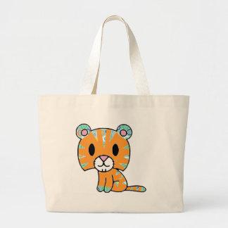 Funky Kitty Jumbo Tote Bag