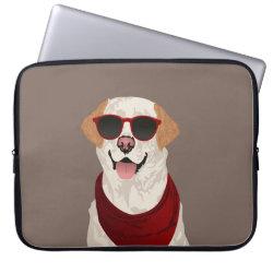 Neoprene Laptop Sleeve 15' with Labrador Retriever Phone Cases design