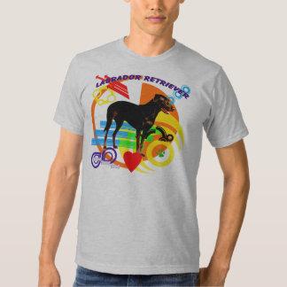 Funky Labrador Retriever T-shirts