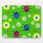 Funky Ladybugs Mouse Mat
