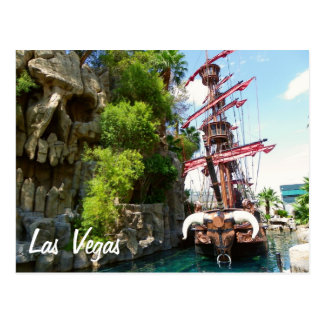 Funky Las Vegas Postcard! Postcard
