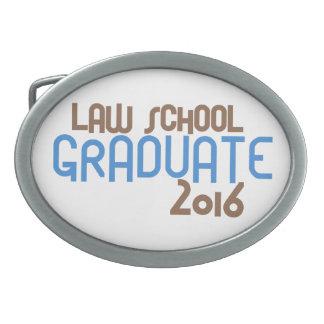 Funky Law School Graduate 2016 (Blue) Belt Buckle