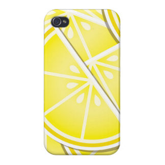 Funky lemon wedges! iPhone 4/4S covers