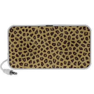 funky leopard print animal print pattern mp3 speaker