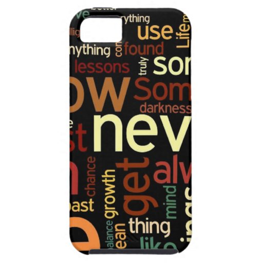 Funky Life Words iPhone 5 Case