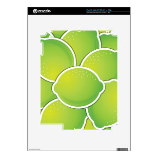 Funky lime decal for the iPad 2