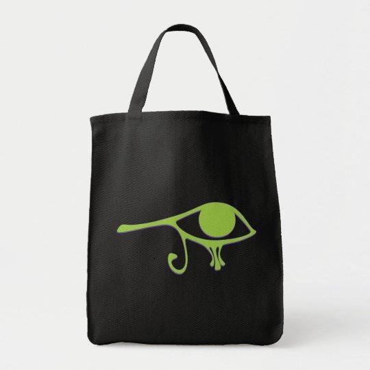Funky Lime Purple Wedjet Tote Bag