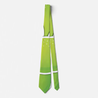 Funky lime tie