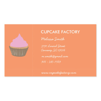 Funky little cupcakes Double-Sided standard business cards (Pack of 100)