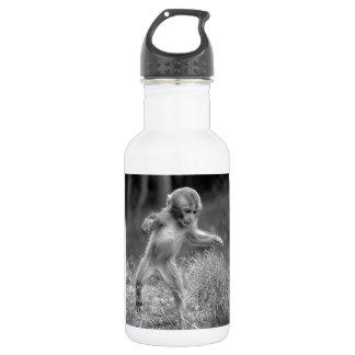Funky Little Monkey Stainless Steel Water Bottle