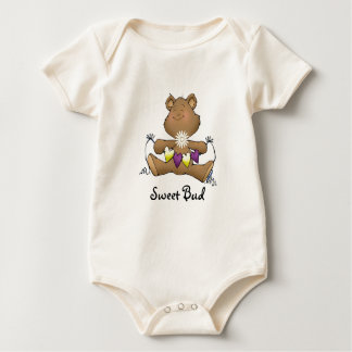 Funky Love Bear Sweet Bud Baby Bodysuit