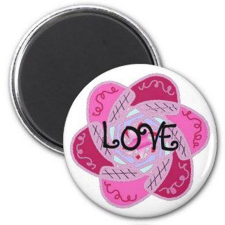 Funky Love Design Refrigerator Magnets