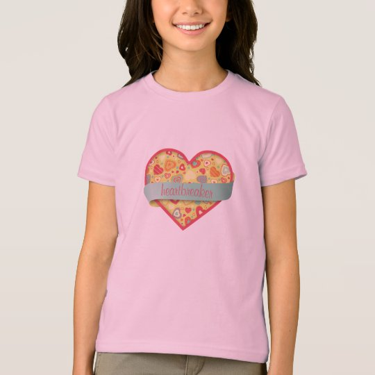 Funky Love- heart with banner, customizable T-Shirt